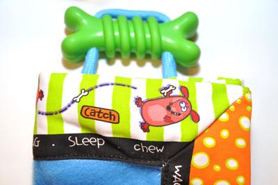 Подстилка-игрушка для щенков
