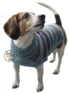 Свитер для собак из шерсти ламы