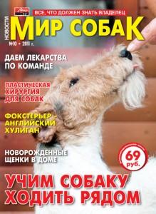 журнал Мир собак №10 октябрь 2011 фокстерьер