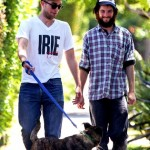 Роберт Паттинсон и его собака 5Robert-Pattinson-Tom-Sturridge-071911-435x580