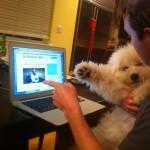 Марк Цукерберг и его собака Beast
