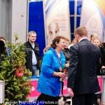 Выставка собак Россия 2012 фото Чоговадзе Галина фристайл бордер колли