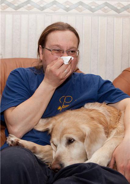 аллергия на собак симптомы у детей фото